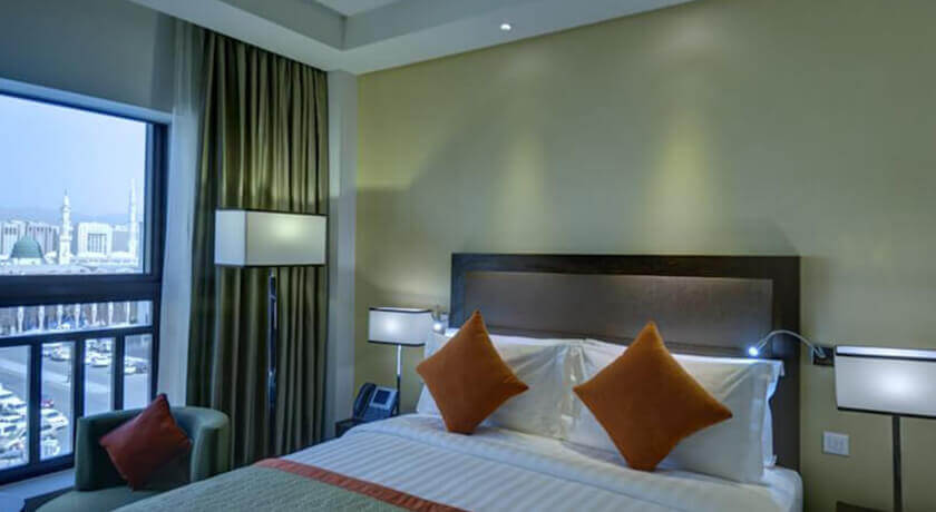 Crowne Plaza Madinah  (Bed & Breakfast)