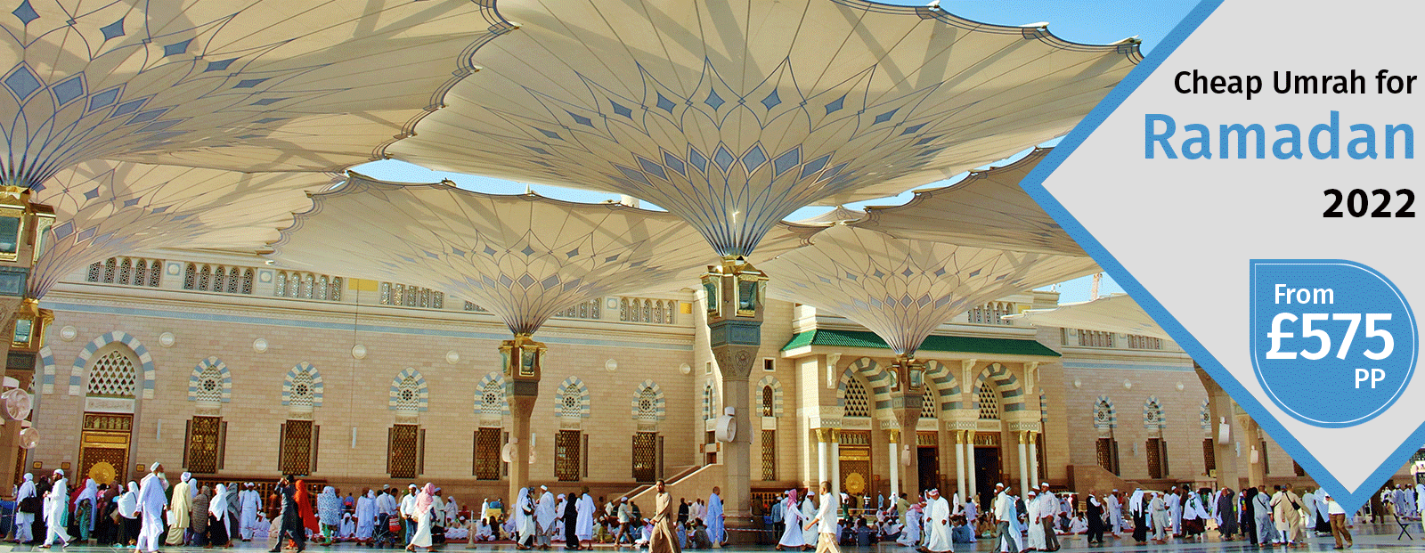 February Umrah Packages 2020 Special Discount on Booking Now