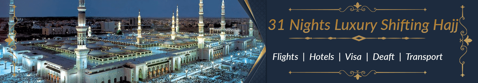 5 Star Non Shifting Hajj Packages 2020 For Uk